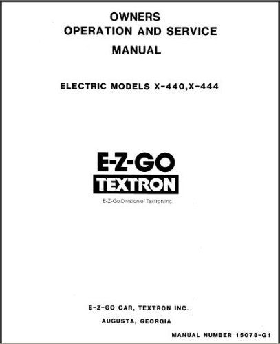 PU22-000 - Service Manual, Electric, '65-'79