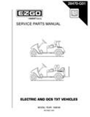 PU22-400 - Parts Manual, Electric, '96-'00