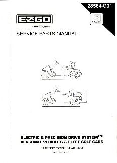 PU22-420 - Parts Manual, Electric, 2000