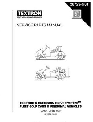 PU22-430 - Parts Manual, Electric, '01-'02