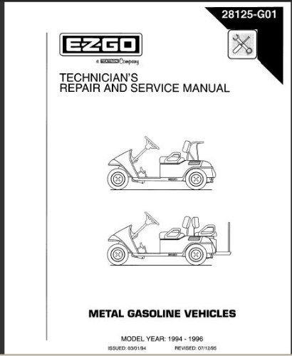 PU22-590 - Service Manual, Gas, '94-'96