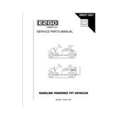 PU22-640 - Service Manual, Gas, 2001