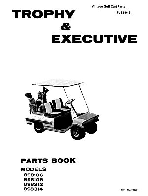 PU33-042 - Parts Manual, Electric, '70-'76