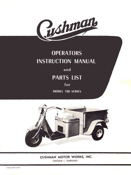 PU33-008 - Operator & Parts Manual, Gas,