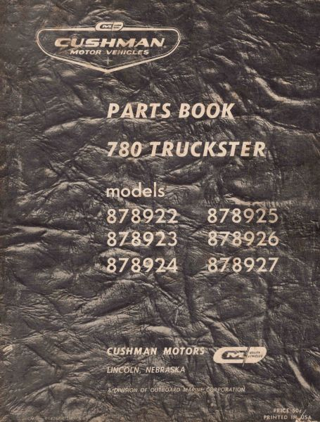 PU33-009 - Parts Manual, Gas,'61-'62