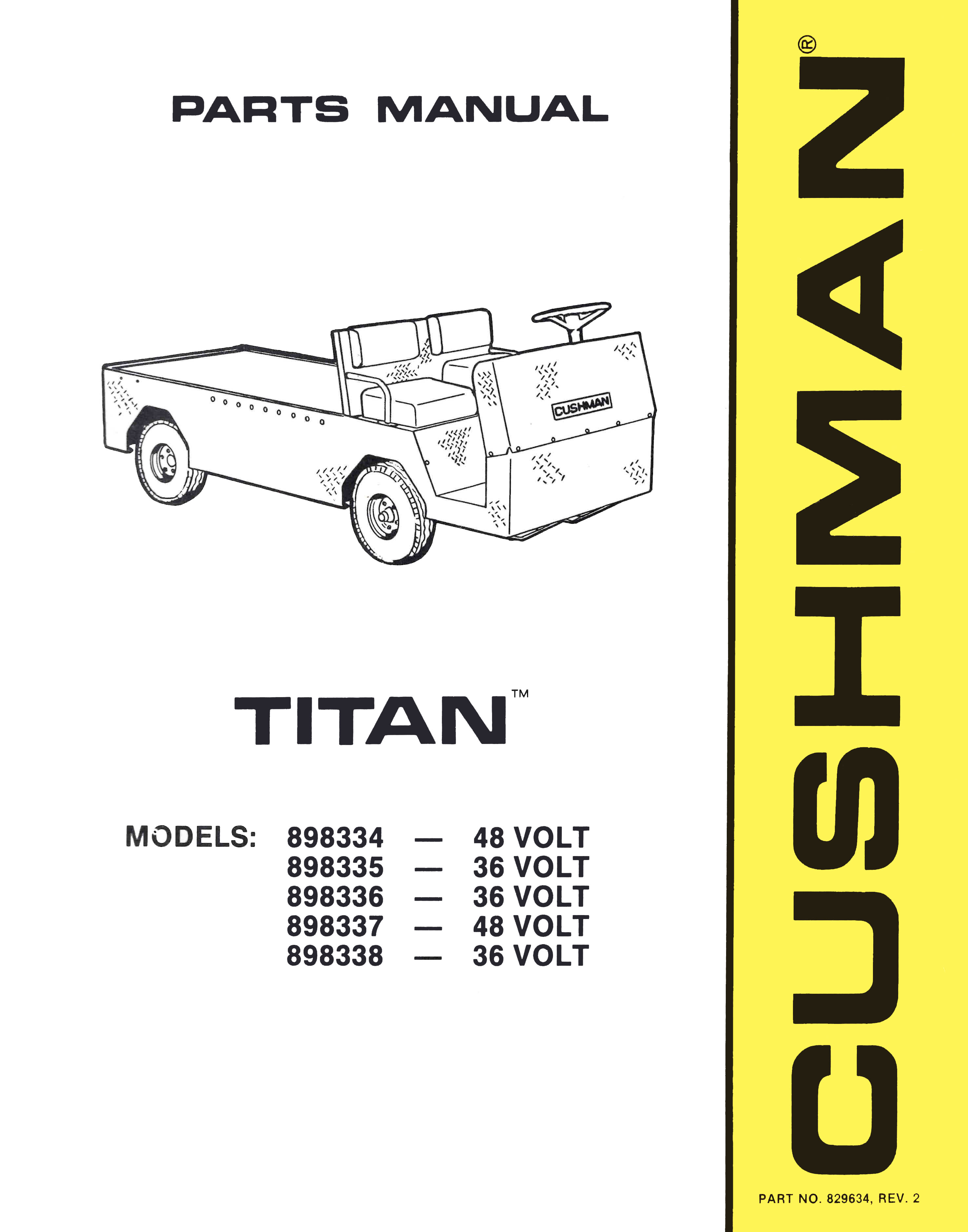 Product Index - Vintage Golf Cart Parts Inc