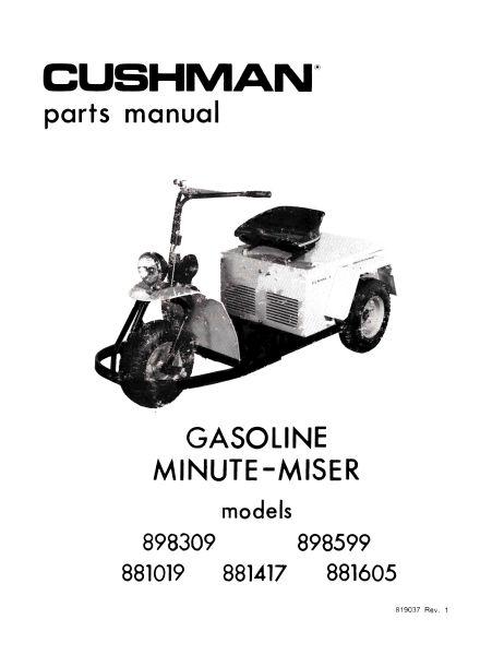 Parts Manuals - Vintage Golf Cart Parts Inc.