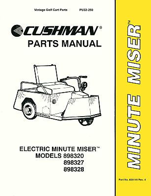 PU33-250 - Parts Manual, Electric, '77-'95