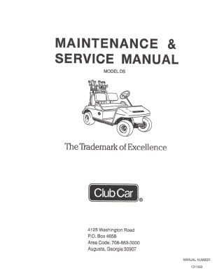 PU44-160 - Service Manual, Electric, '81-'85