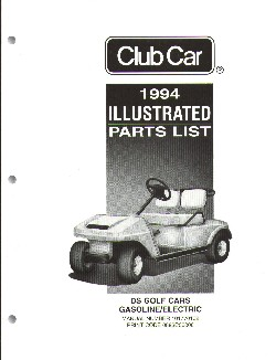 PU44-220 - Parts Manual, G&E, '92-'94,