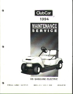 PU44-230 - Service Manual, G&E, '92-'94