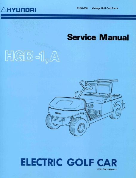 PU50-330 - Electric Service Manual
