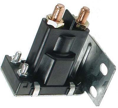 SO22-032 - 12 Volt Solenoid, Silver Contacts