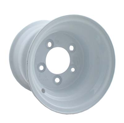 WH22-220 - 5 Lug 10'' Wheel, White, NLA