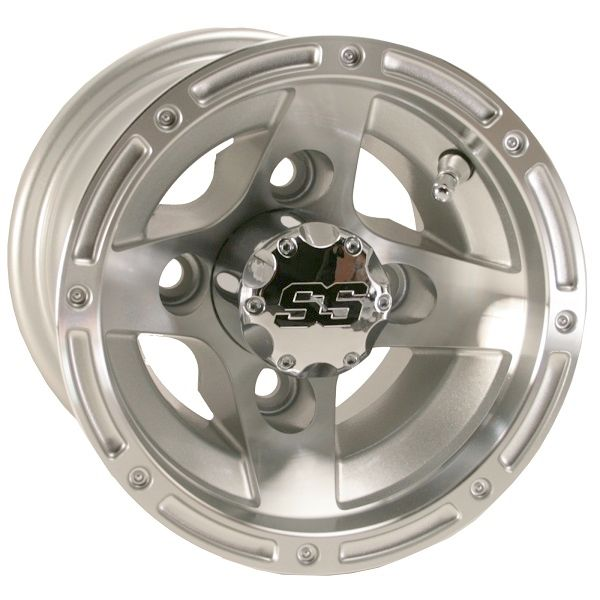 WM11-121 - Ranger Machined Aluminum Wheel, Silver, NLA