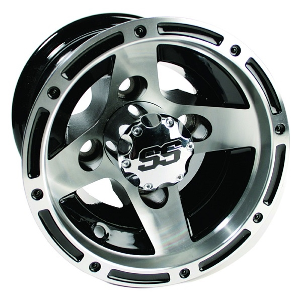WM11-122 - Ranger Machined Aluminum Wheel, Black
