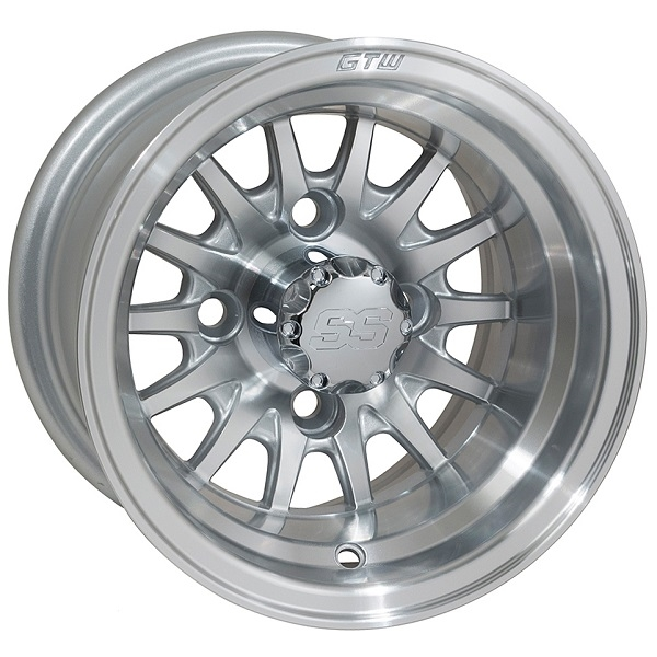 WM11-134 - Medusa Machined Aluminum Wheel.