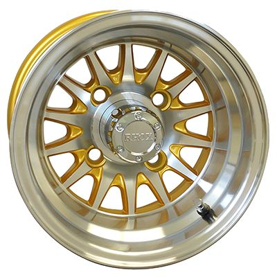 WM11-147 - Phoenix Machined Aluminum Wheel, Gold