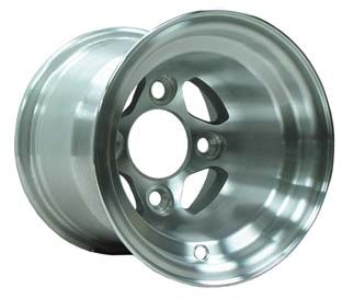 WM11-130 - NLA, Viking Machined Aluminum 8'' Wheel